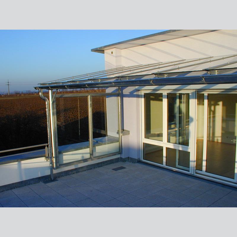 Balkonüberdachungen - Metallbau Strobel GmbH in Filderstadt