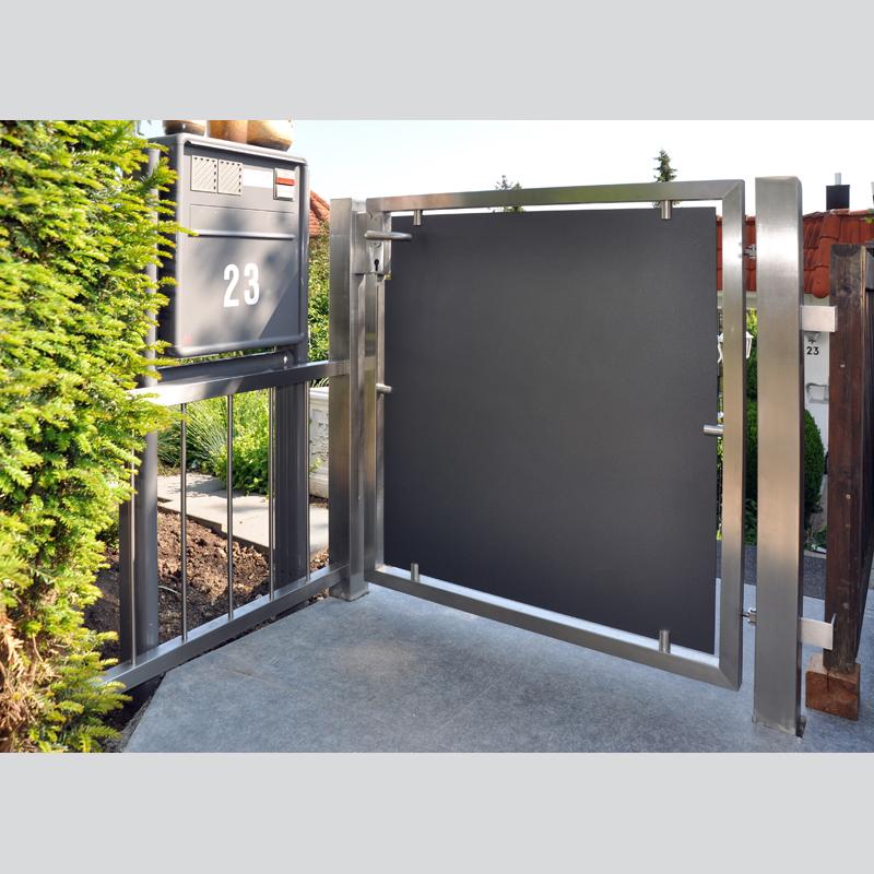 Gartentore metallbau strobel gmbh in filderstadt - Gartentore aus metall ...